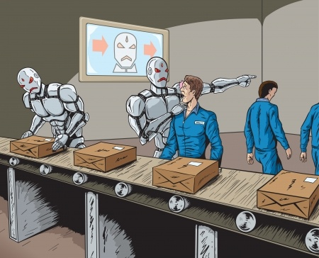 Are robots coming to your workplace?