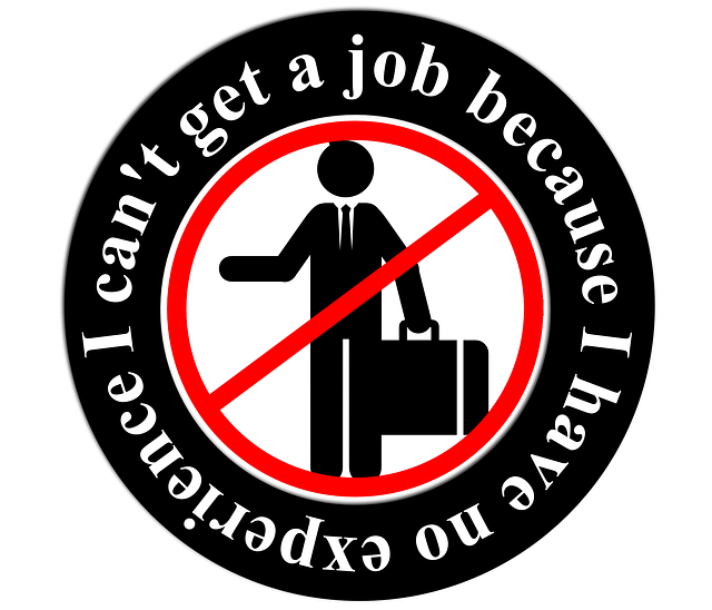 I can't get a job because I have no experience