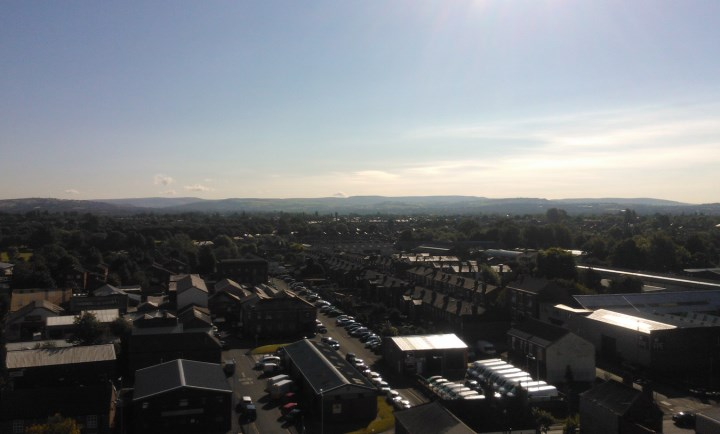 Unparalleled views of Stockport from 9th floor offices
